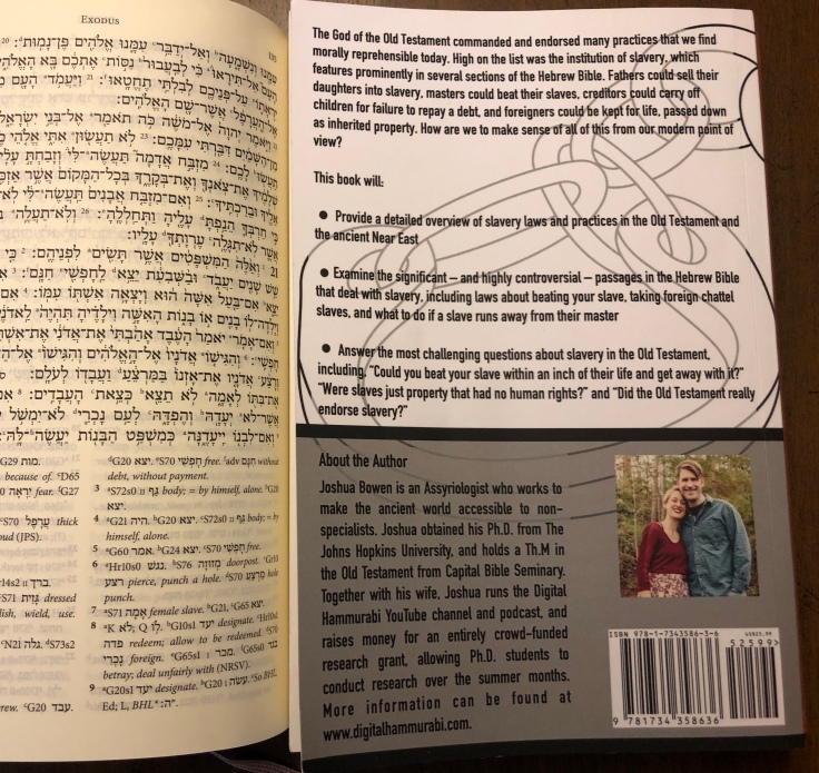 A New Theory: The Law of Moses does not allow any form of Slavery - Adherent Apologetics